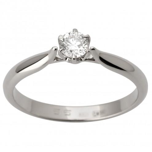 Каблучка з 1 діамантом 921-1778