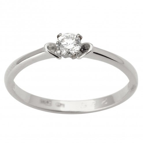 Каблучка з 1 діамантом 921-1784