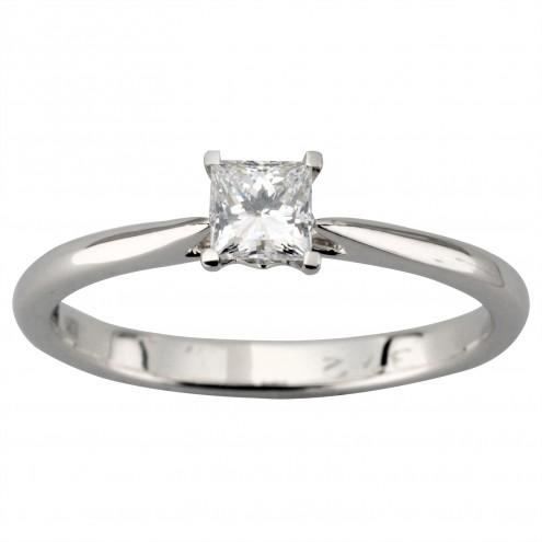 Каблучка з 1 діамантом 921-1909