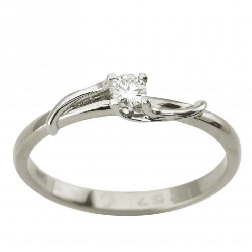 Каблучка з 1 діамантом 921-1957