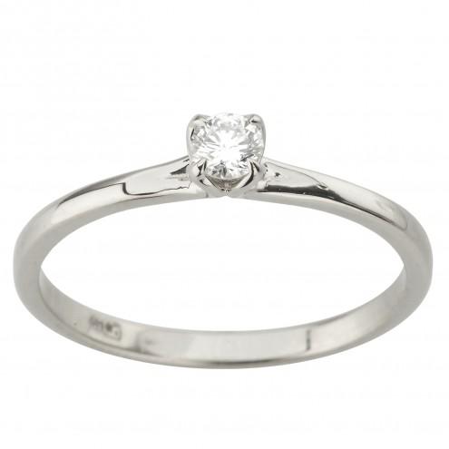 Каблучка з 1 діамантом 921-2028