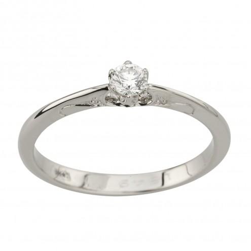 Каблучка з 1 діамантом 921-2031