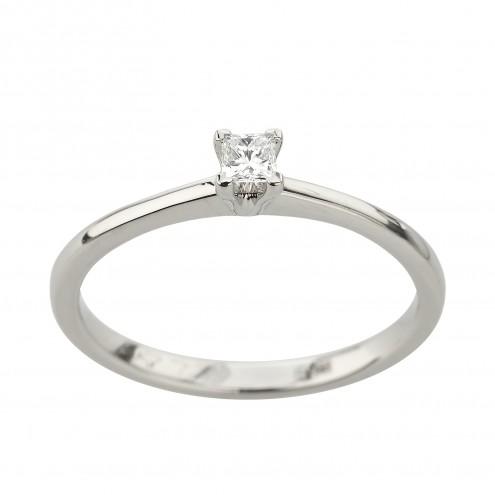 Каблучка з 1 діамантом 921-2074