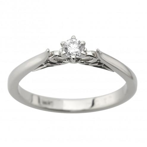 Каблучка з 1 діамантом 921-3020