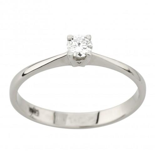 Каблучка з 1 діамантом 921-4013