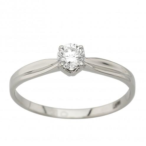 Каблучка з 1 діамантом 921-4028