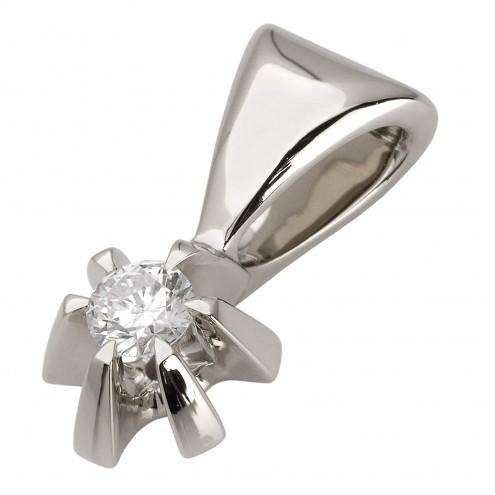 Підвіска з 1 діамантом 929-0510