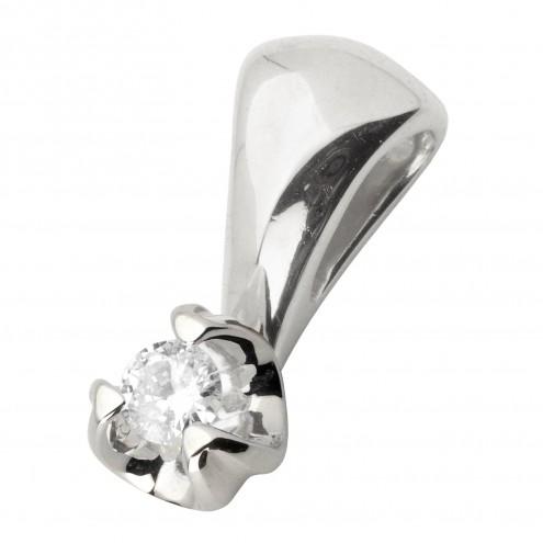 Підвіска з 1 діамантом 929-0666