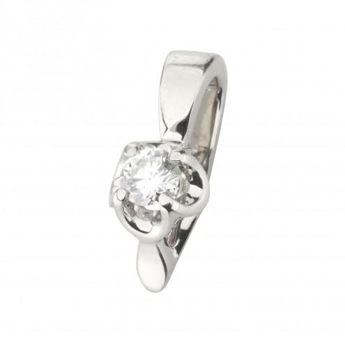 Підвіска з 1 діамантом 929-0873