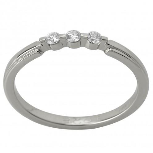 Каблучка з декількома діамантами 941-1205