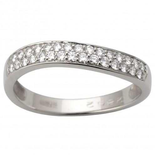 Каблучка з декількома діамантами 941-1658