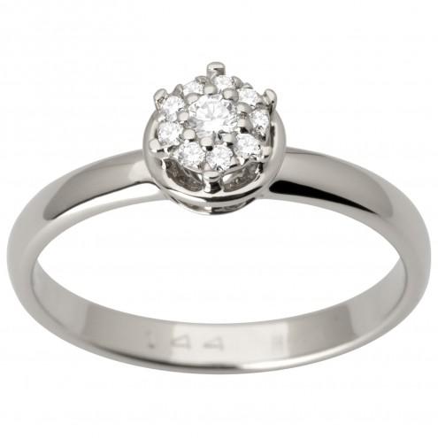 Каблучка з декількома діамантами 941-3003