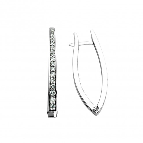 Сережки з декількома діамантами 942-0267