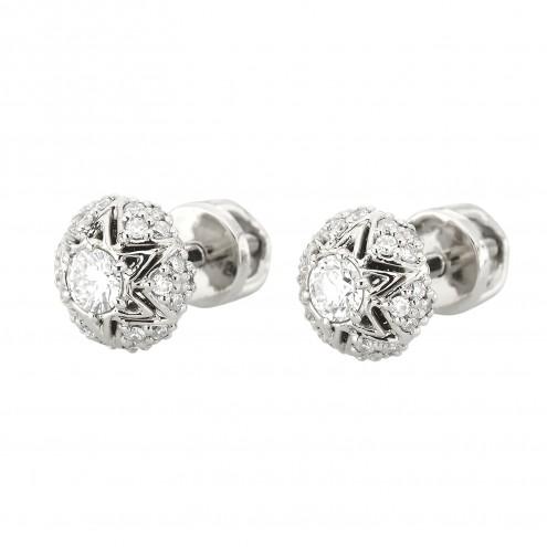 Сережки з декількома діамантами 942-1350