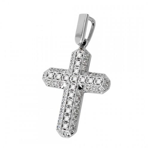 Хрест з декількома діамантами 949-0162