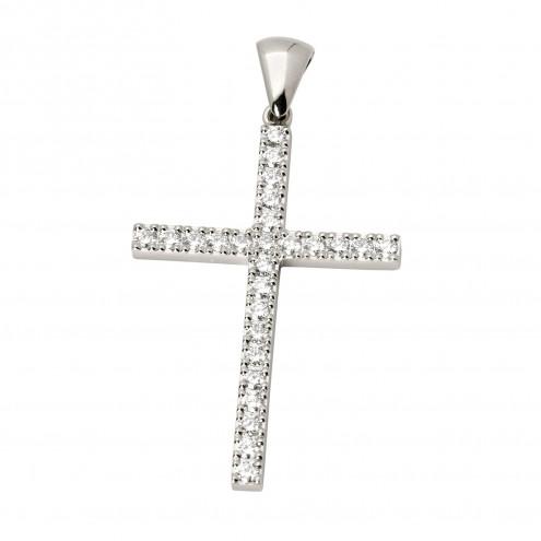Хрест з декількома діамантами 949-0441