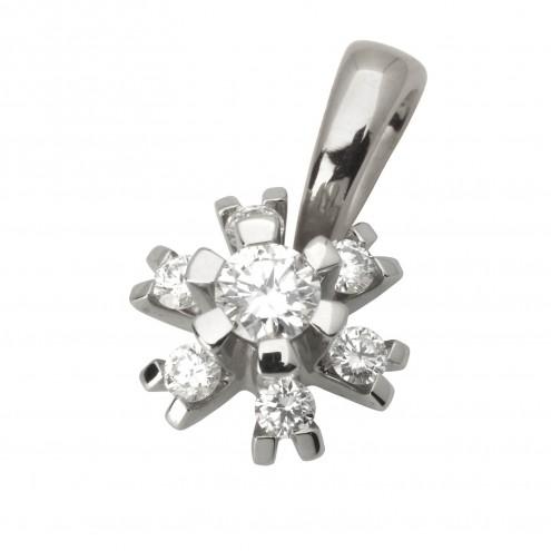 Підвіска з декількома діамантами 949-0587