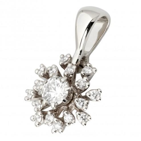 Підвіска з декількома діамантами 949-0770