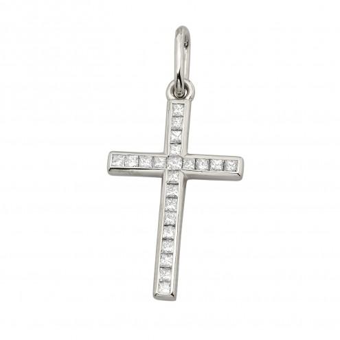 Хрест з декількома діамантами 949-0910