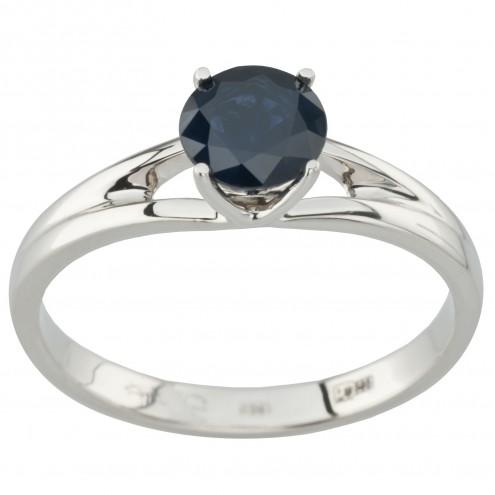 Каблучка з діамантами та кольоровим камінням 981-1975