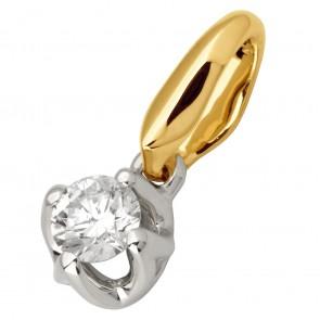 Підвіска з 1 діамантом 329-0711