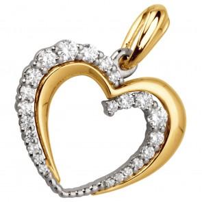 Підвіска з декількома діамантами 349-0612