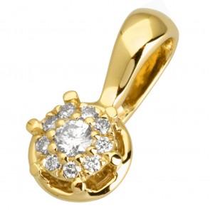Підвіска з декількома діамантами 349-1003