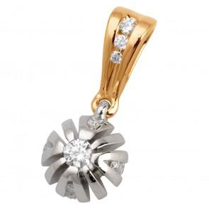 Підвіска з декількома діамантами 849-0626
