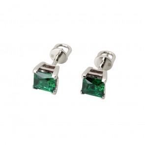 Сережки з кольоровим камінням 902-0695
