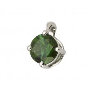 Підвіска з кольоровим камінням 909-0704