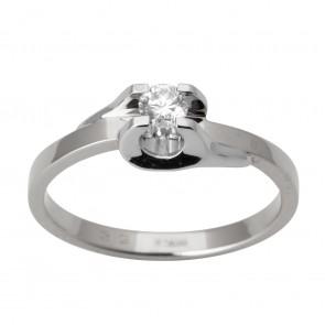 Каблучка з 1 діамантом 921-0182