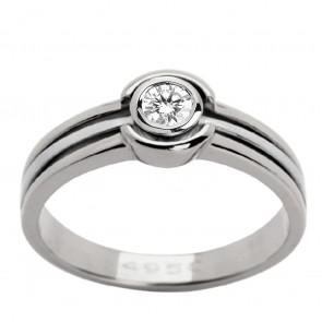 Каблучка з 1 діамантом 921-0533