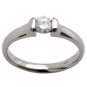 Каблучка з 1 діамантом 921-0915
