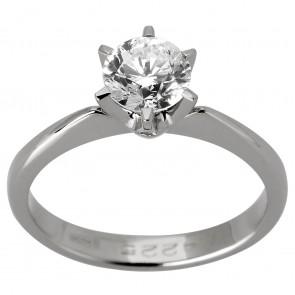 Каблучка з 1 діамантом 921-1120