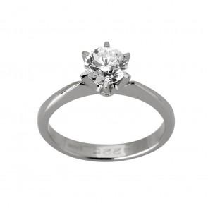 Каблучка з 1 діамантом 921-1749