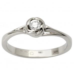 Каблучка з 1 діамантом 921-1807