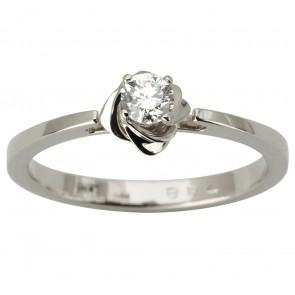 Каблучка з 1 діамантом 921-1872