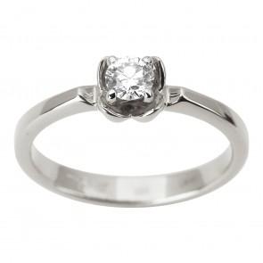 Каблучка з 1 діамантом 921-1874