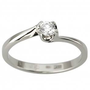 Каблучка з 1 діамантом 921-1949
