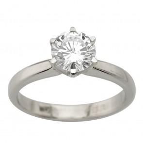 Каблучка з 1 діамантом 921-2091
