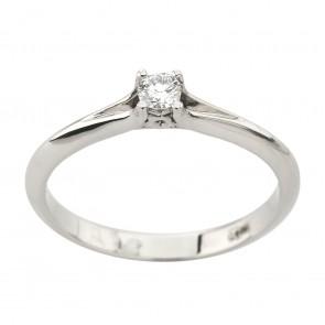 Каблучка з 1 діамантом 921-3042