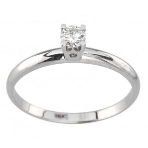 Каблучка з 1 діамантом 921-4001