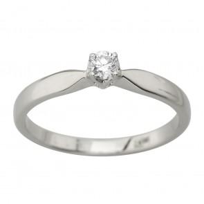 Каблучка з 1 діамантом 921-4004