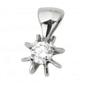 Підвіска з 1 діамантом 929-0835