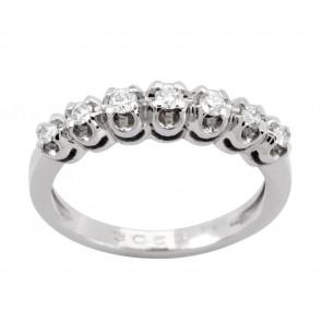 Каблучка з декількома діамантами 941-0504