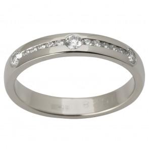 Обручка з декількома діамантами 941-1519