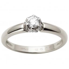 Каблучка з декількома діамантами 941-1641