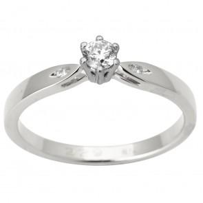 Каблучка з декількома діамантами 941-1693
