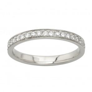 Обручка з декількома діамантами 941-2014