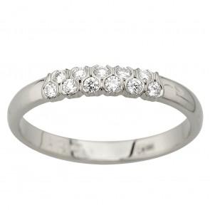 Каблучка з декількома діамантами 941-2093